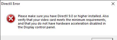 Windows 10 Direct x - C&C:Online Support - Revora Forums
