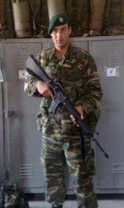 Greek Commander's Photo